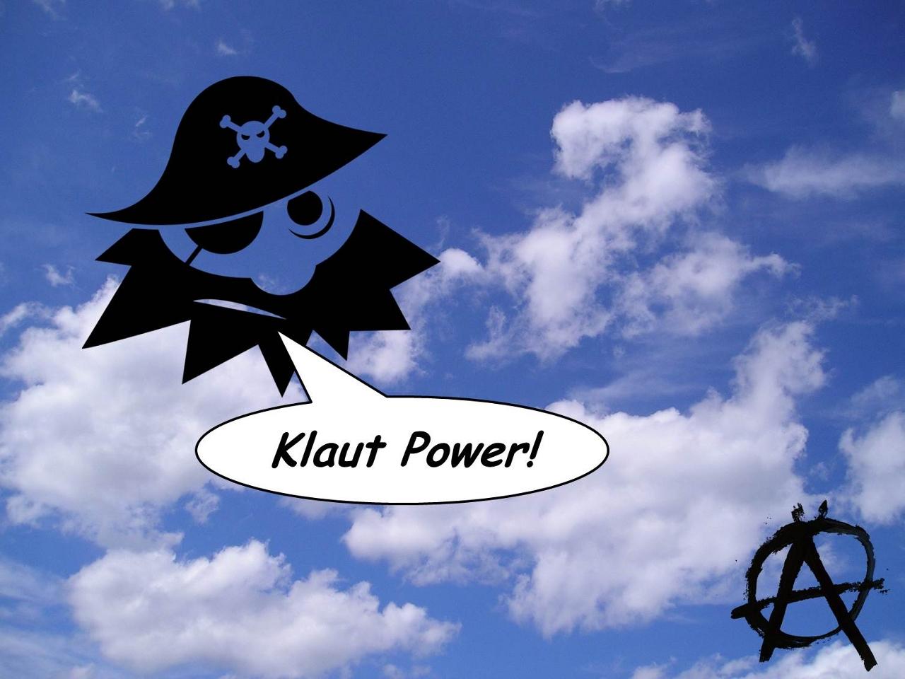 Klaut [kloud]: German for to steal