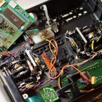 Graupner mc-17 original controller removed