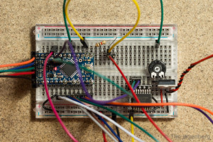 Clock Prototype on Breadboard