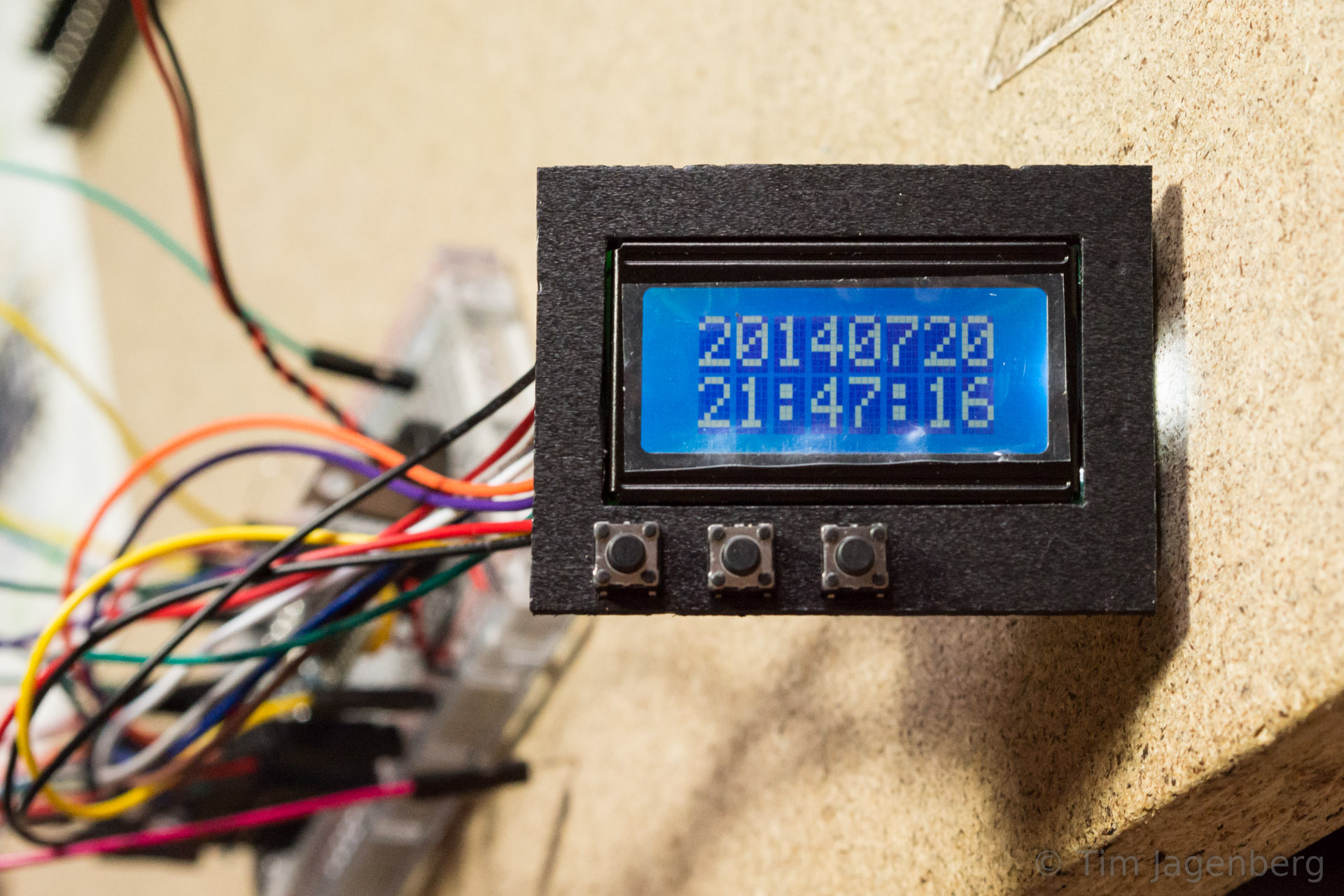 Arduino Analog Pins Setting Up A Photo Interrupter Or Slotted Clock Prototype On Breadboard Lcd Panel With Buttons