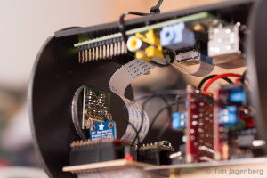 Inner Housing - View on PiCam and Raspberry Pi