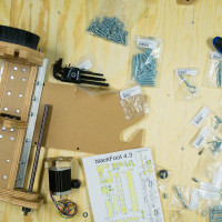 blackFoot 4.2 router assembly
