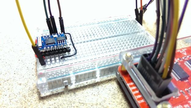 ESP-03 module for the ESP8266EX