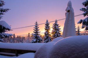 Sunset in Winter