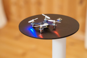Micro Quadrcopter on Platform