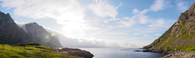 Cloud closing in on Horseid Beach